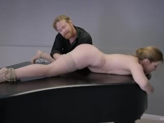 BDSM Sex Movie – Very Unusual Sex On A Piano – Full Scene