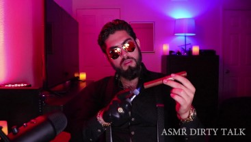 Dabber Alpha King Domination Smoking Cigar Custom Video Ft. Leather Gloves