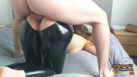 Latex leggins porn