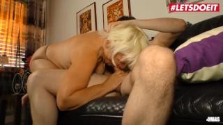 LETSDOEIT - Horny Granny Takes On Her stepnephew's Cock