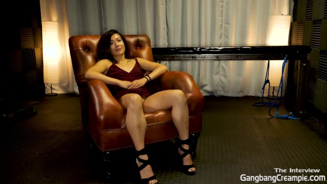 Getting to know Aubrey Black. before her first Gangbang Creampie 48