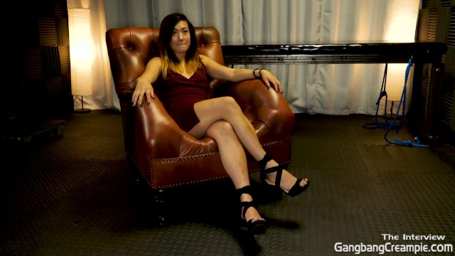 Getting to know Aubrey Black. before her first Gangbang Creampie 8