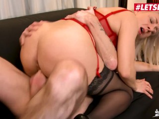 LETSDOEIT – Mature Slut Julie Holly Wants Two Cocks At The Same Time In Her