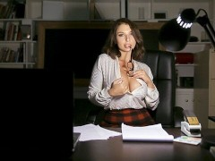 MYLF - Demanding MILF Punishes Her Employee