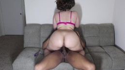 Bouncing my big booty on a big dick... best ass online!