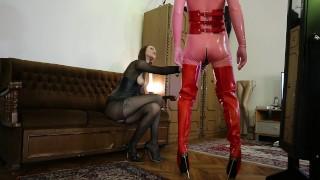 Keyholder Chastity Mistress Young Domina Femdom Cum Control