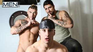 Men.com - Joey pounded hard by William while Ryan watching them