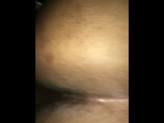 Big black making pussy fart on my dick...