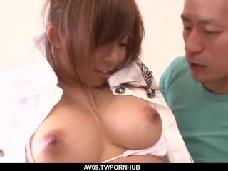 Woman treats cock with lust and care 69avs...