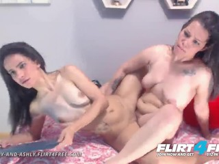 Brittany and ashly on flirt4free sexy euro cam...