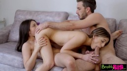 Bratty Sis - Helping My Step Sis Give Her Bestie First Threesome S9:E7