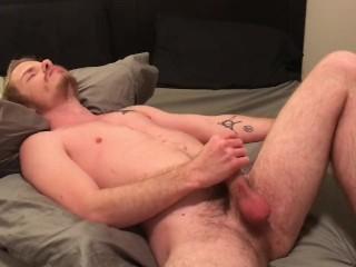 Bisexual pretty boy solo cum...