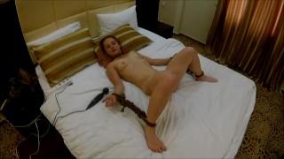 Bondage sex with multiorgasm
