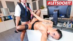 LETSDOEIT - My Office Secretary Cheats Boyfriend