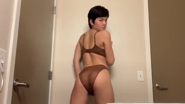 Transgender hair cut and los angeles - Short haired trans cutie strips and touches herself daisy taylor