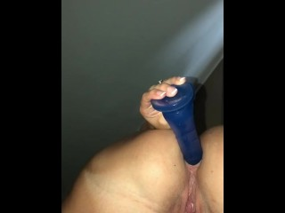 Loosening up for my hubby to fuck on...