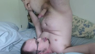 Long Orgasm, Sprayed Cum All Over My Face!