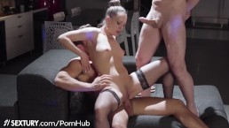 21Sextury Blue Angel RETURNS 2 Porn With Big Dick 3-Way!