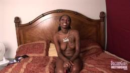 Pretty Ebony Freak Twerks Naked So We Can See The Pussy