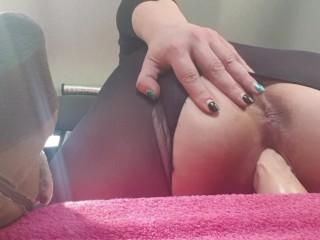Masturbating in the back seat of my car in public