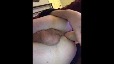 Blonde British Teen Send Nudes Riding Dildo and Moaning