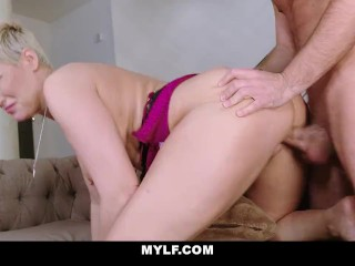 MYLF - Busty Stepmom Fucks Stepson