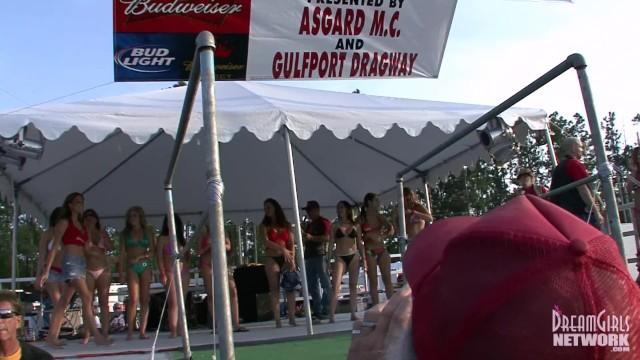 Bikini Contest At A Huge Biker Rally 9