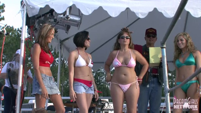 Bikini Contest At A Huge Biker Rally 24
