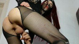 Gothic Beauty Ruined Orgasm Instructions