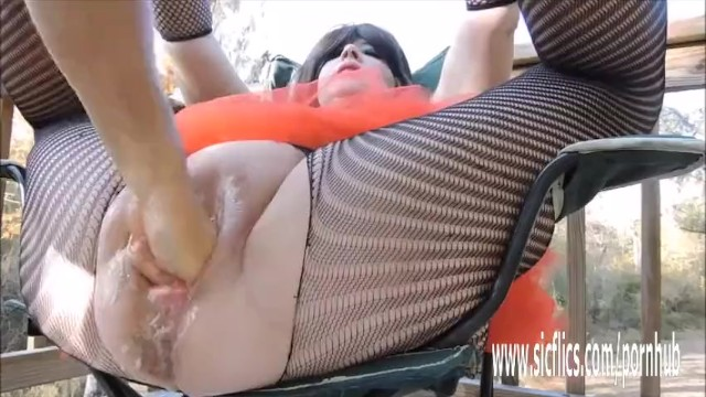Double fisting and huge insertions amateur BBW 14