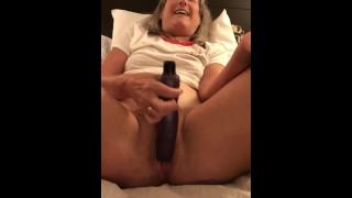 60 year old milf granny hotel play