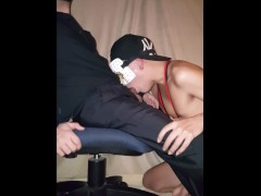 Dad & Son BJ After Work & Swallow. Preview. Full Vid 1Horse2387 on Xtube