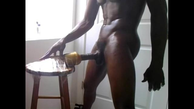 Jacking My Big Black Dick