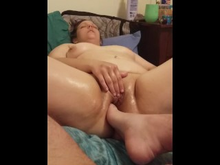 Foot In Pussy Attempt #1