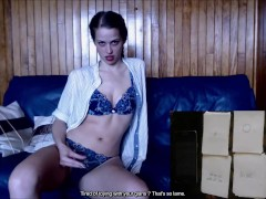 JOI cards game - Classic version [soft femdom] french, english subtitles