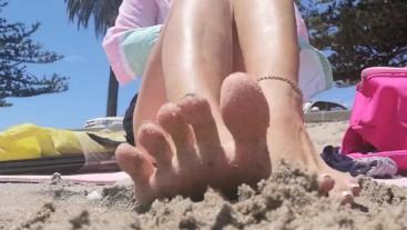 Asmr - Beach Feet