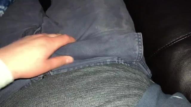 Jerks Him Off Makes Him Cum