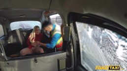 Fake Taxi Sasha Steele gets her tits out at the car wash