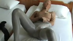 Encasement Pantyhose nylon Multilayer Masturbation within the Resort Room
