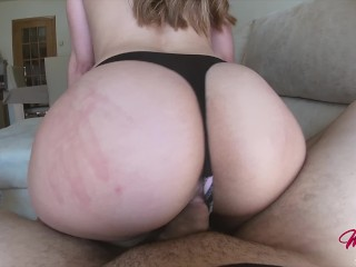 He came inside me so fast after showing my twerk skills – POV CREAMPIE 4K