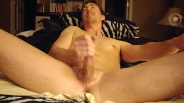 Using the Hitachi Wand On My Dick Covered In Oil Part 2 Vegaslife486