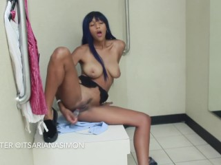 CAUGHT Teen Masturbating in Dressing Room