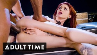 ADULT TIME Tiny Lola Fae Squirts on BBC & Takes it Anally!