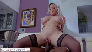 Naughty America - Dee Williams did NOT see this coming - Interracial Action