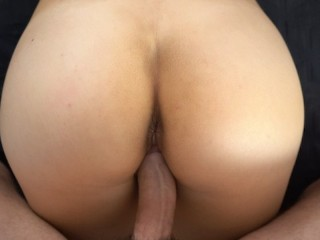 He Keeps Fucking Me After He Cums On My Ass – Amateur Prone Bone