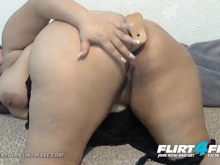 Sarah latina on flirt4free bbw latina plays with...