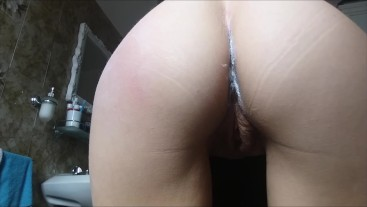 spank and pee for my beautiful horny aunt
