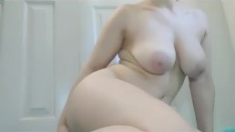 Curvy Slut Craves Her Anal Beads