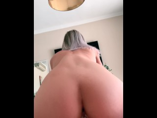 Blonde Tinder Date suck and fuck my dick like a pro