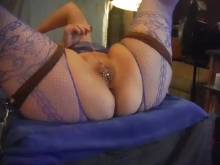 Tied and tortured to orgasm